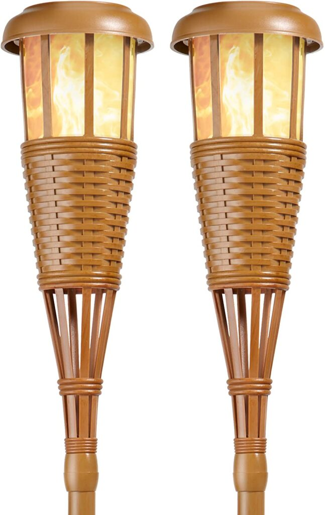 Newhouse Lighting Solar Island Torches