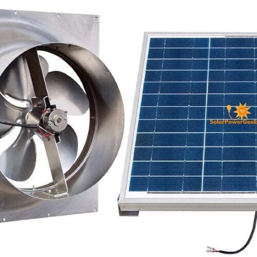 solar powered exhaust fans