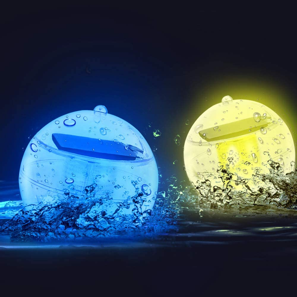 Letour Decorative Solar Floating Pool Lights
