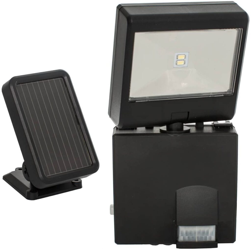 MAXSA Innovations 44311 Black Solar Spotlight