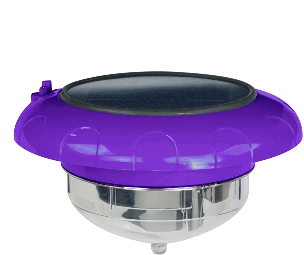 Blue Wave Floating Solar Pool Light