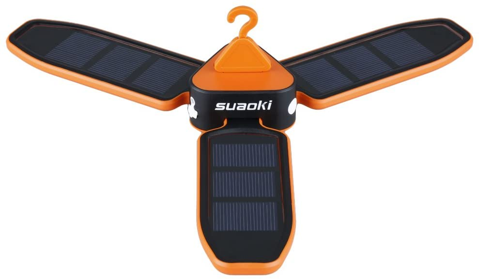 Suaoki Collapsible Clover Style Solar Fan