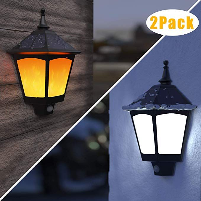 B-right 2 in 1 Solar Wall Sconce