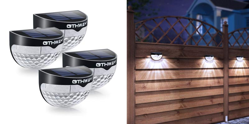 OTHWAY Solar Fence Post Light