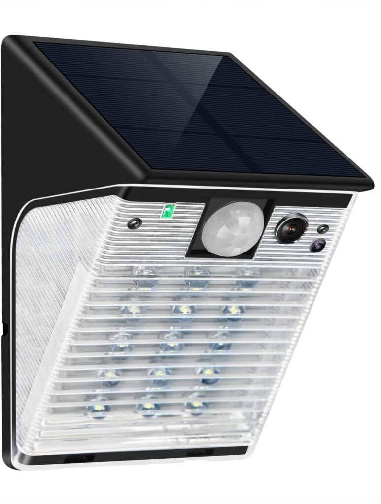 ENSTER Solar Battery Powered Security Camera