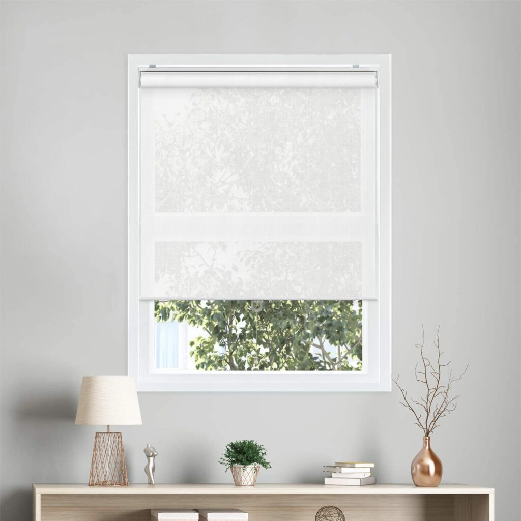 CHICOLOGY Snap-N-Glide Cordless Roller Shades - solar blind