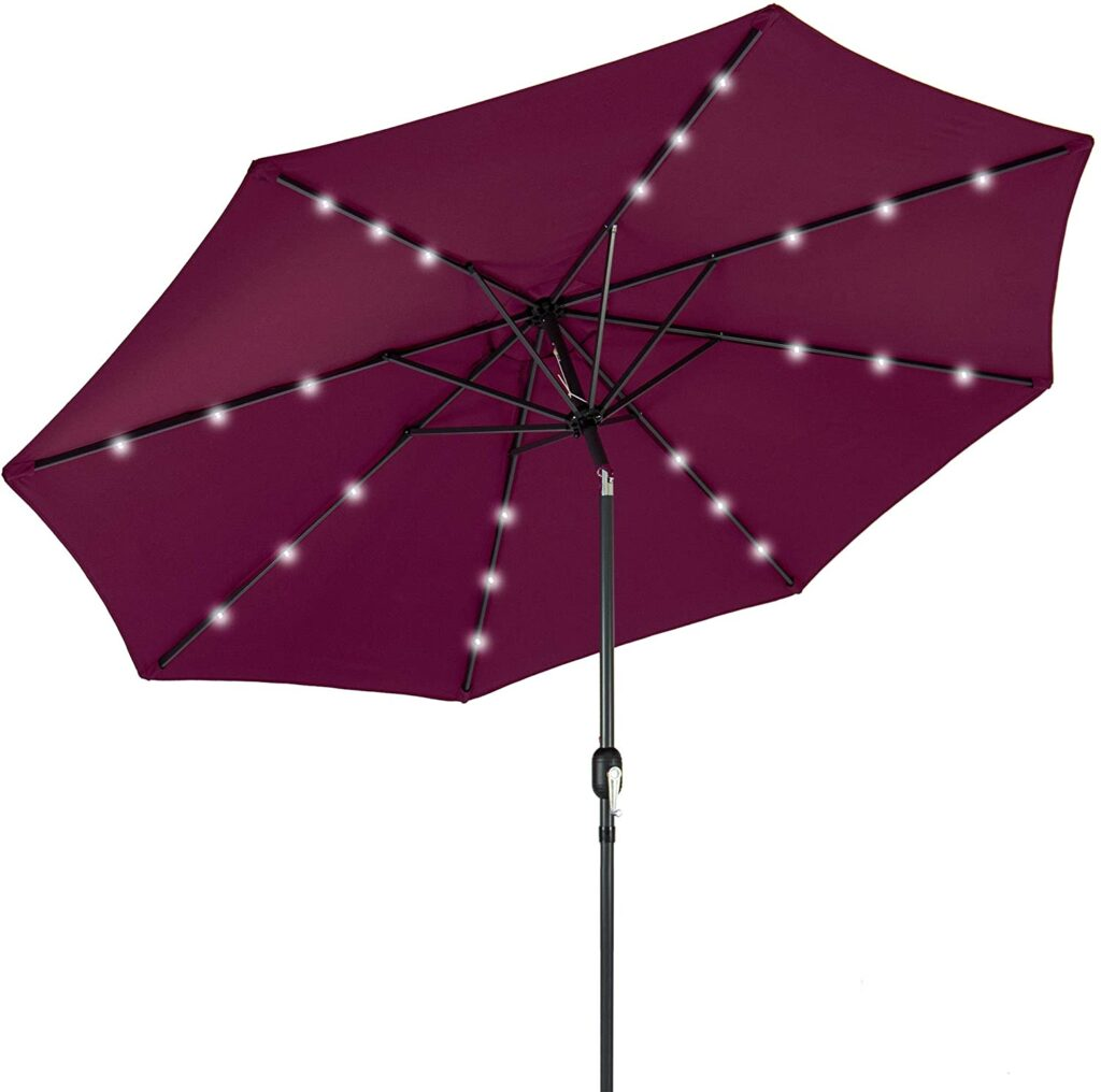Best Choice Product 10 Feet Offset Patio Umbrella