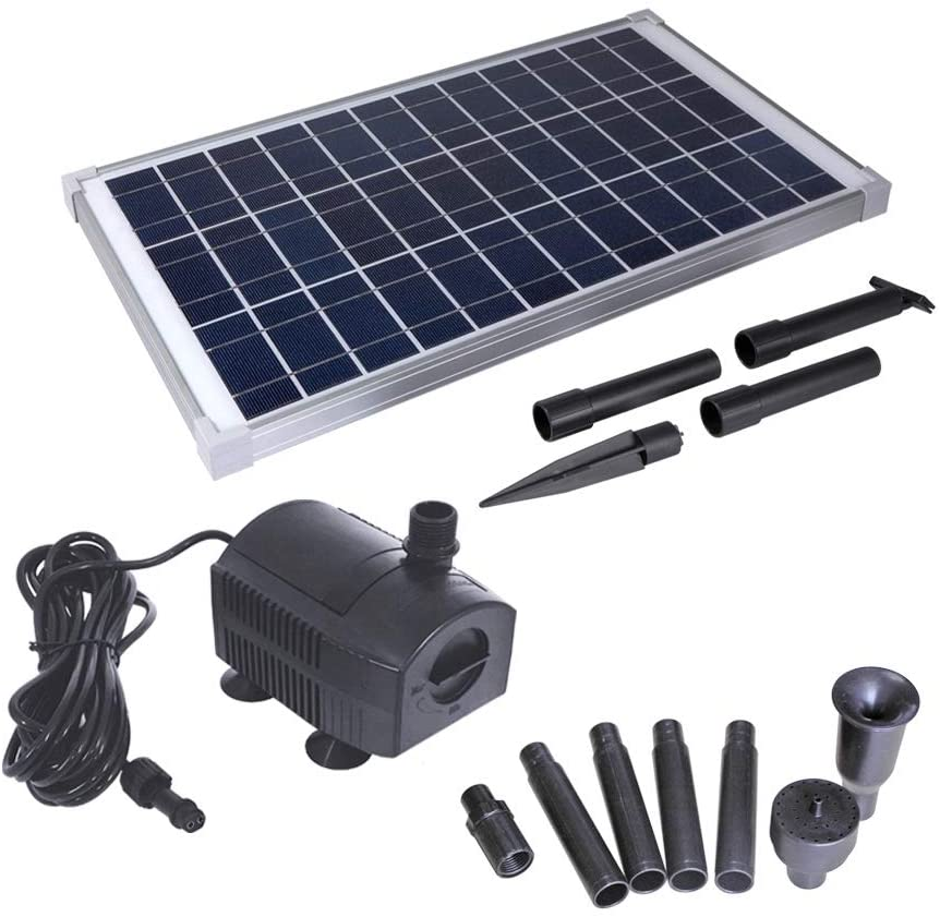 Solar Water Pump Kit by Solariver