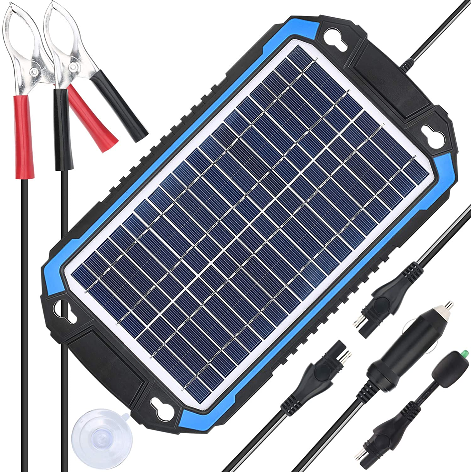 Best solar car battery charger