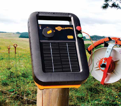 Gallagher S10 Solar Electric Fence Charger