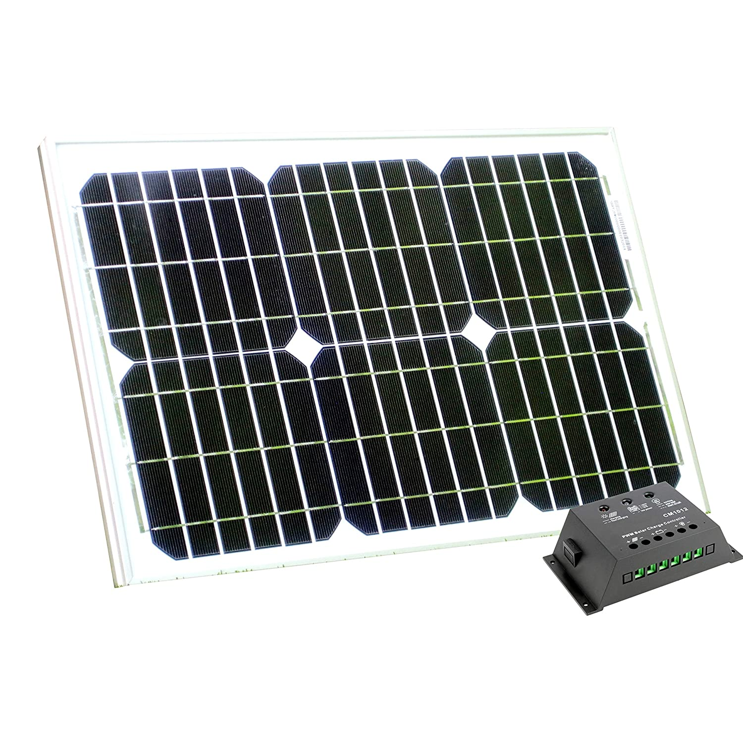 PK Green 10W Solar Panel with Cable